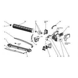 CONTROL P.C. BOARD HOLDER ASSEMBLY
