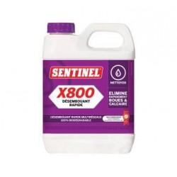 SENTINEL X800 1L - Désembouant rapide multiréseaux 100% biodégradable